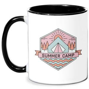 Summer Camp Mug - White/Black