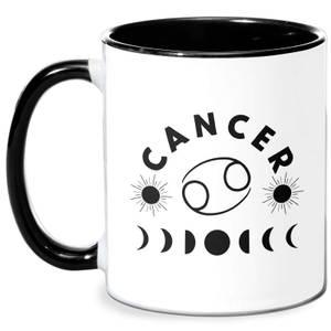 Cancer Mug - White/Black