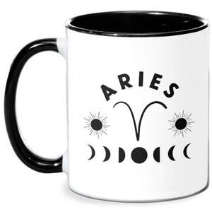 Aries Mug - White/Black