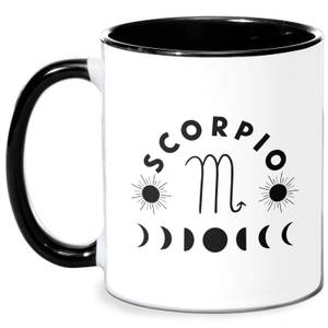 Scorpio Mug - White/Black