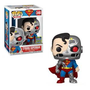 DC Comics Cyborg Superman SDCC 2020 EXC Pop! Vinyl Figur