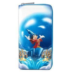 Loungefly Disney Fantasia Sorceror Mickey Zip Around Wallet