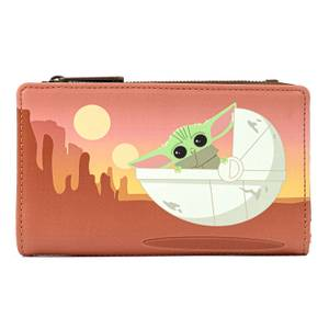 Loungefly Star Wars Mandalorian Child Wait For Me Wallet