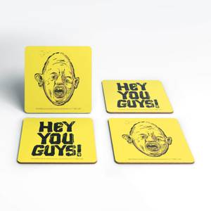 The Goonies Hey You Guys! Coaster Set