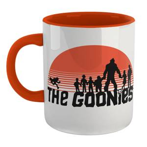 The Goonies Never Say Die Mug - Wit/Orange