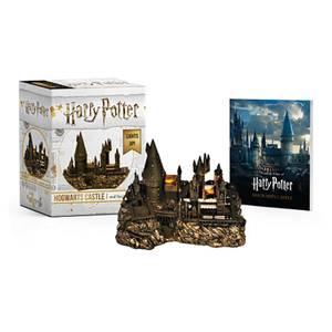 Château de Poudlard et livre d'autocollants Harry Potter