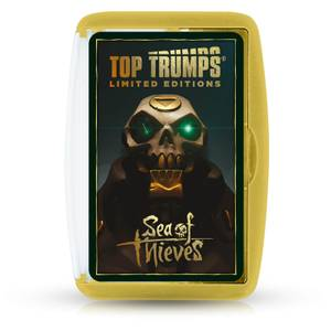 Sea Of Thieves X Top Trumps Limited Edition - Rare Store Exclusive