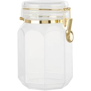 Gozo Octagonal Canister with Clip Lid - Large