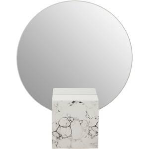 Mimo Mirror - White Faux Marble