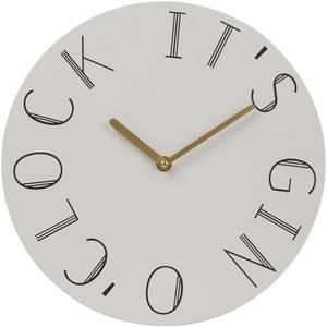 Mimo Gin Clock - White