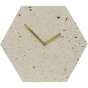 Mimo Hexagon Clock - Pink/Grey Terrazzo