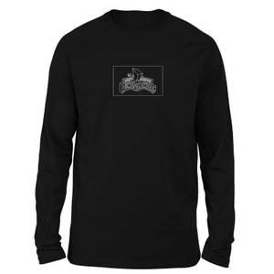 T-shirt Power Rangers Zords List - Noir - Unisexe