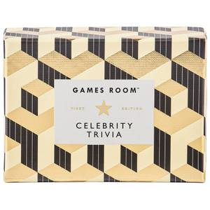 The Games Room Celebrity Trivia Cards