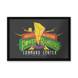 Power Rangers Command Center Entrance Mat