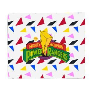 Power Rangers Fleece Decke