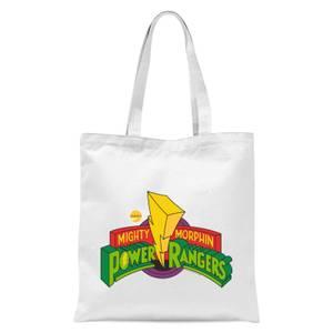Tote Bag Power Rangers Power Rangers - Blanc