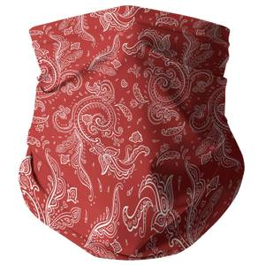 Red Paisley Snood