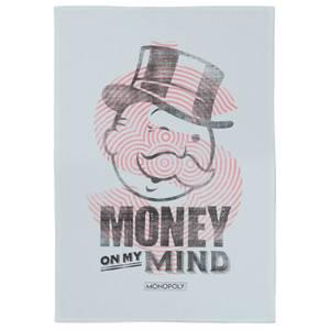 Monopoly Money On My Mind Tea Towel