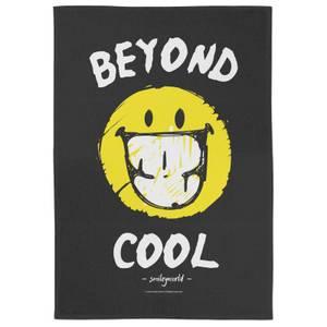 Smiley Beyond Cool Tea Towel