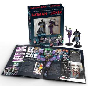Eaglemoss DC Comics Batman and The Joker Special Edition Paperback - Includes 2 Figures