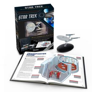 Eaglemoss Star Trek: The U.S.S. Enterprise NCC-1701 Illustrated Handbooks Plus Collectible Hardcover