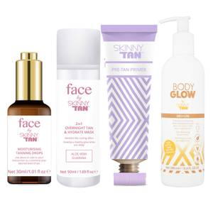 Skinny Tan Face and Body Glow Bundle (Worth £52.96)