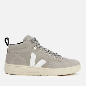Veja Women's Roraima Suede Hiking Style Boots - Oxford Grey/White