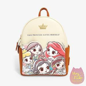 Loungefly Disney Princess Chibi Mini Backpack - VeryNeko Exclusive