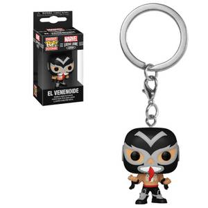 Marvel Luchadores Venom Pop! Keychain