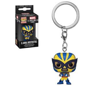 Marvel Luchadores Wolverine Pop! Keychain