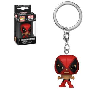 Llavero Pocket Pop! - Deadpool (El Chimichanga De La Muerte) - Marvel Luchadores