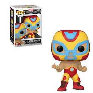 Marvel Luchadores Iron Man Pop! Vinyl