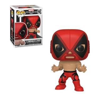 Marvel Luchadores Deadpool Pop! Vinyl