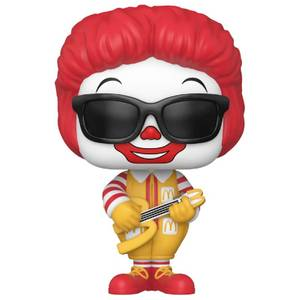 McDonalds Rock Out Ronald Funko Pop! Vinyl