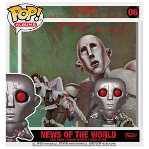 POP! Albums Queen News of the World Funko Pop! Album