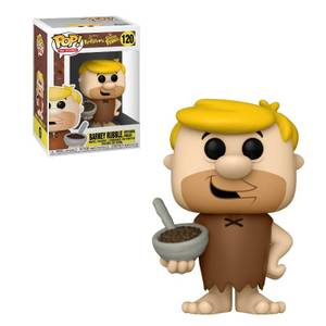 The Flintstones Cocoa Pebbles Barney with Cereal Funko Pop Vinyl