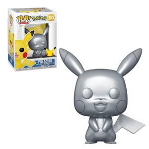 Pokemon Pikachu (Silver Metallic) Funko Pop! Vinyl