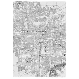Las Vegas City Map Tea Towel