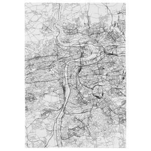 Prague City Map Tea Towel