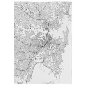 Sydney City Map Tea Towel