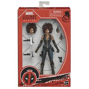 Figura de acción Domino - Hasbro Marvel Legends X-Men