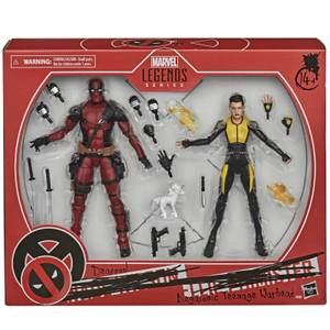Pack 2 Figuras de acción Deadpool y Negasonic Teenage Warhead - Hasbro Marvel Legends Series