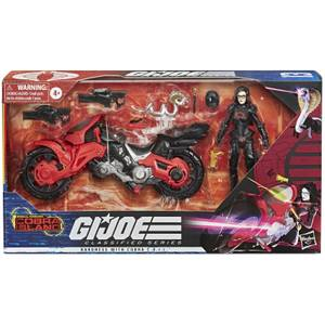 Hasbro G.I. Joe Classified Series Baroness with C.O.I.L. Figure and Vehicle