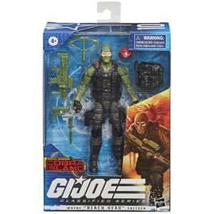 "Hasbro G.I. Joe Classified Series Special Missions: Cobra Island Wayne ""Beach Head"" Sneeden"