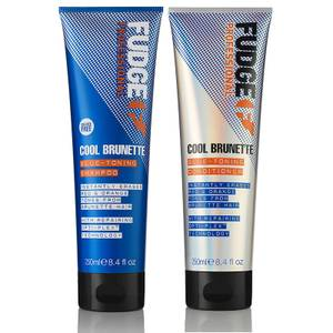 Fudge Professional Cool Brunette Shampoo and Conditioner Duo 2 x 250ml