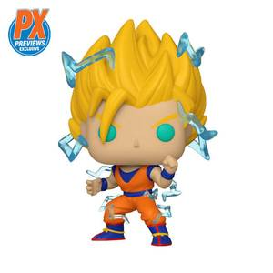 Figura Funko Pop! Exclusivo PX - Goku Super Saiyan 2 - Dragon Ball Z