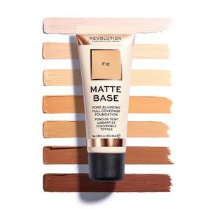 Makeup Revolution Matte Base Foundation (Various Shades)