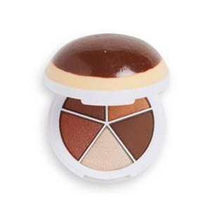 I Heart Revolution Donuts Eye Shadow Palette - Chocolate Custard