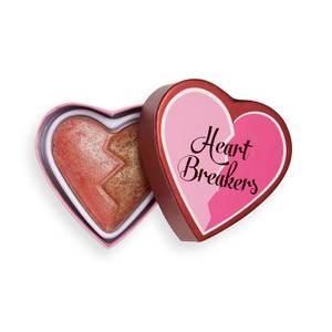 I Heart Revolution Heartbreakers Shimmer Blusher - Powerful