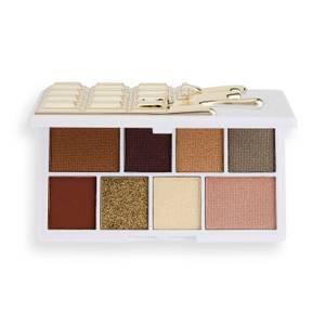 I Heart Revolution Mini Chocolate Eye Shadow Palette - White Gold